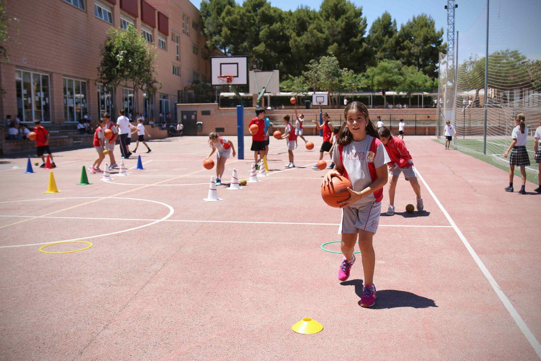 Pistas mini basquet Caxton College Colegio Británico en Valencia