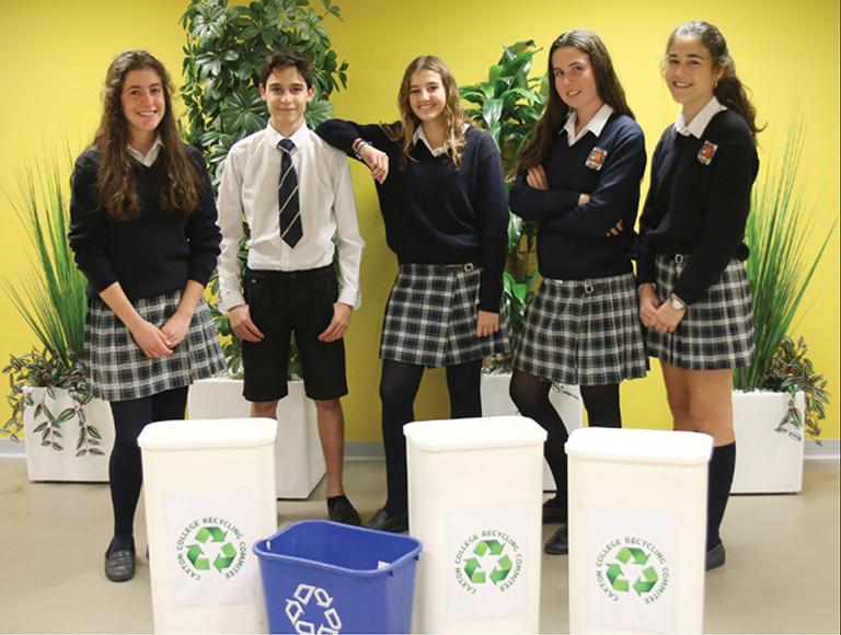 En Caxton College cuidamos del planeta