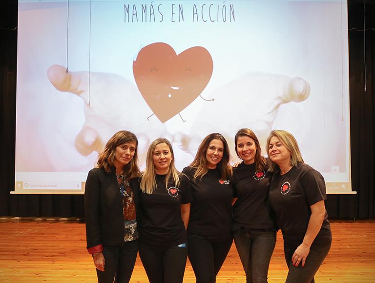 Colaboracion con la ong Mamas en Accion