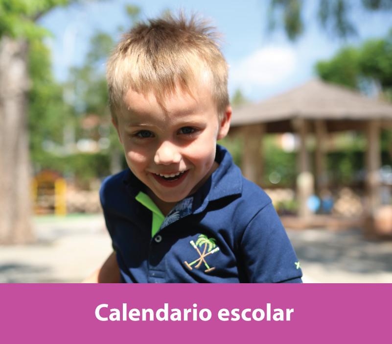 Consulta nuestro calendario escolar de los Sábados de Caxton College